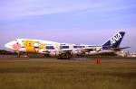 WING_ACEさんが、伊丹空港で撮影した全日空 747-481の航空フォト(飛行機 写真・画像)