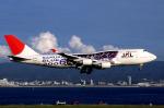 WING_ACEさんが、関西国際空港で撮影した日本航空 747-446の航空フォト(飛行機 写真・画像)