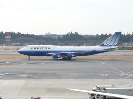 yanaさんが、成田国際空港で撮影したユナイテッド航空 747-422の航空フォト(飛行機 写真・画像)