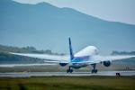 パンダさんが、函館空港で撮影した全日空 777-281/ERの航空フォト(写真)