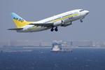 xxxxxzさんが、羽田空港で撮影したAIR DO 737-54Kの航空フォト(飛行機 写真・画像)