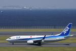 xxxxxzさんが、羽田空港で撮影した全日空 737-881の航空フォト(飛行機 写真・画像)