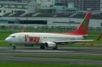 rjnsphotoclub-No.07さんが、福岡空港で撮影したティーウェイ航空 737-8K5の航空フォト(飛行機 写真・画像)