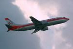 rjnsphotoclub-No.07さんが、福岡空港で撮影した日本トランスオーシャン航空 737-446の航空フォト(写真)