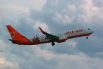 rjnsphotoclub-No.07さんが、福岡空港で撮影したチェジュ航空 737-8Q8の航空フォト(飛行機 写真・画像)