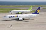 WING_ACEさんが、神戸空港で撮影したスカイマーク 737-86Nの航空フォト(写真)