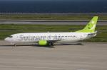 WING_ACEさんが、神戸空港で撮影したソラシド エア 737-43Qの航空フォト(飛行機 写真・画像)
