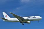 パンダさんが、成田国際空港で撮影したジェット・アジア・エアウェイズ 767-233/ERの航空フォト(写真)