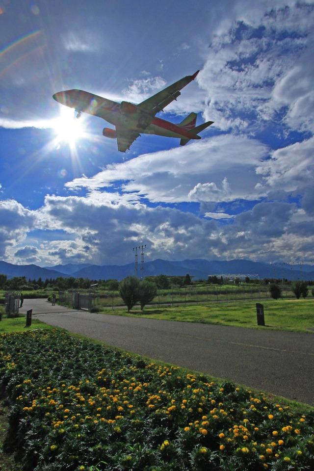 アミーゴさんが、松本空港で撮影したフジドリームエアラインズ ERJ-170-100 (ERJ-170STD)の航空フォト(飛行機 写真・画像)