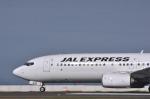 snow_shinさんが、北九州空港で撮影したJALエクスプレス 737-846の航空フォト(写真)