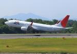 よしこさんが、広島空港で撮影したJALエクスプレス 737-846の航空フォト(飛行機 写真・画像)