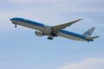 uhfxさんが、関西国際空港で撮影したKLMオランダ航空 777-306/ERの航空フォト(飛行機 写真・画像)