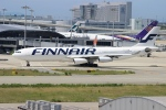 uhfxさんが、関西国際空港で撮影したフィンエアー A340-313Xの航空フォト(飛行機 写真・画像)
