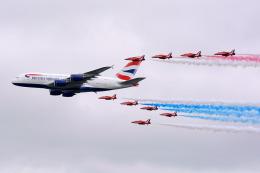 フェアフォード空軍基地 - RAF Fairford [FFD/EGVA]で撮影されたブリティッシュ・エアウェイズ - British Airways [BA/BAW]の航空機写真