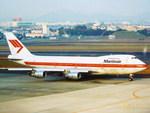 yanaさんが、名古屋飛行場で撮影したマーティンエアー 747-21AC/SCDの航空フォト(写真)