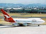 yanaさんが、名古屋飛行場で撮影したカンタス航空 747SP-38の航空フォト(写真)
