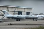 パンダさんが、羽田空港で撮影した国土交通省 航空局 BD-700-1A10 Global Expressの航空フォト(写真)