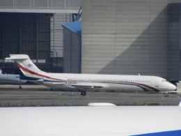 White Pelicanさんが、成田国際空港で撮影したスワジランド政府 MD-87 (DC-9-87)の航空フォト(飛行機 写真・画像)
