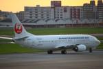 Kuuさんが、福岡空港で撮影した日本トランスオーシャン航空 737-4Q3の航空フォト(飛行機 写真・画像)