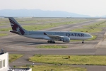 uhfxさんが、関西国際空港で撮影したカタール航空 A330-203の航空フォト(飛行機 写真・画像)