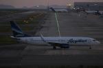 uhfxさんが、関西国際空港で撮影したヤクティア・エア 737-86Nの航空フォト(飛行機 写真・画像)