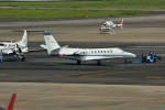 T.Sazenさんが、名古屋飛行場で撮影した中日本航空 560 Citation Vの航空フォト(飛行機 写真・画像)