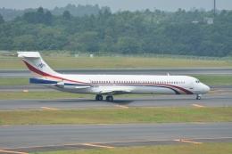 とりてつさんが、成田国際空港で撮影したスワジランド政府 MD-87 (DC-9-87)の航空フォト(飛行機 写真・画像)
