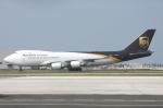 WING_ACEさんが、関西国際空港で撮影したUPS航空 747-44AF/SCDの航空フォト(飛行機 写真・画像)