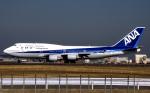 WING_ACEさんが、成田国際空港で撮影した全日空 747-481の航空フォト(飛行機 写真・画像)