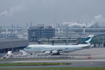 Severemanさんが、羽田空港で撮影したキャセイパシフィック航空 747-467の航空フォト(写真)