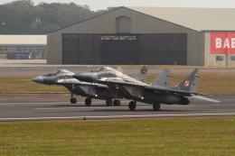 maruさんが、フェアフォード空軍基地で撮影したポーランド空軍 MiG-29Aの航空フォト(飛行機 写真・画像)