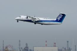 Severemanさんが、羽田空港で撮影したエアーニッポンネットワーク DHC-8-314Q Dash 8の航空フォト(写真)