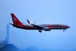 T.Sazenさんが、関西国際空港で撮影した上海航空 737-86Dの航空フォト(飛行機 写真・画像)