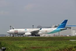 ウッディさんが、成田国際空港で撮影したガルーダ・インドネシア航空 A330-341の航空フォト(写真)