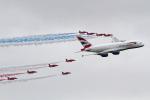 ゆーぱろさんが、フェアフォード空軍基地で撮影したブリティッシュ・エアウェイズ A380-841の航空フォト(写真)
