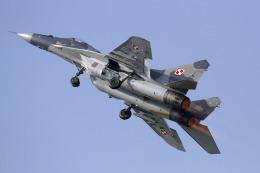 ゆーぱろさんが、フェアフォード空軍基地で撮影したポーランド空軍 MiG-29Aの航空フォト(飛行機 写真・画像)