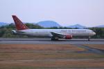 よしこさんが、広島空港で撮影したオムニエアインターナショナル 767-328/ERの航空フォト(飛行機 写真・画像)