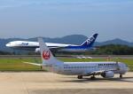 よしこさんが、広島空港で撮影した全日空 777-281/ERの航空フォト(飛行機 写真・画像)