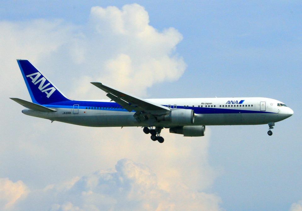 hiro801さんの全日空 Boeing 767-300 (JA616A) 航空フォト