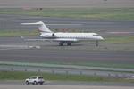 Severemanさんが、羽田空港で撮影したウィルミントン・トラスト・カンパニー BD-700-1A10 Global Expressの航空フォト(写真)