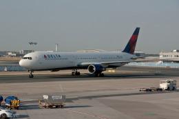 xingyeさんが、フランクフルト国際空港で撮影したデルタ航空 767-432/ERの航空フォト(飛行機 写真・画像)