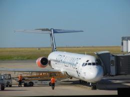 787 yrさんが、パリ シャルル・ド・ゴール国際空港で撮影したスカンジナビア航空 MD-82 (DC-9-82)の航空フォト(飛行機 写真・画像)