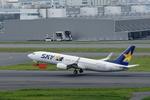Severemanさんが、羽田空港で撮影したスカイマーク 737-8FZの航空フォト(写真)