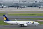 xxxxxzさんが、羽田空港で撮影したスカイマーク 737-8HXの航空フォト(飛行機 写真・画像)
