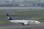 xxxxxzさんが、羽田空港で撮影したスカイマーク 737-8FZの航空フォト(飛行機 写真・画像)
