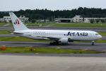 Tomo-Papaさんが、成田国際空港で撮影したジェット・アジア・エアウェイズ 767-2J6/ERの航空フォト(写真)