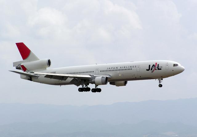 たぁさんが、関西国際空港で撮影した日本航空 MD-11の航空フォト(飛行機 写真・画像)
