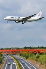 パンダさんが、成田国際空港で撮影したジェット・アジア・エアウェイズ 767-2J6/ERの航空フォト(写真)