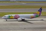 Scotchさんが、中部国際空港で撮影したスカイネットアジア航空 737-43Qの航空フォト(飛行機 写真・画像)