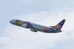 Scotchさんが、中部国際空港で撮影したスカイネットアジア航空 737-46Mの航空フォト(飛行機 写真・画像)